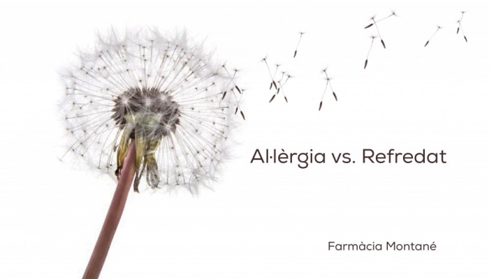 Al.lèrgia vs. refredat