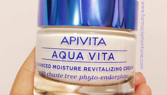 Aquavita Apivita, la clau de la hidratació facial