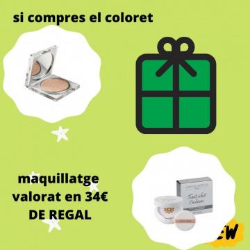 COLORET AMB MAQUILLATGE DE REGAL