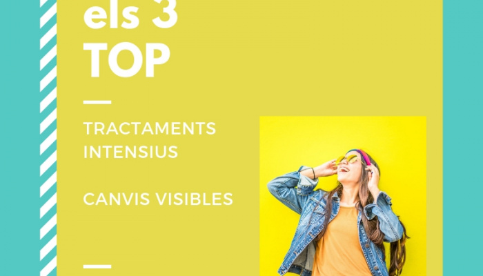 El TOP 3 dels tractaments intensius