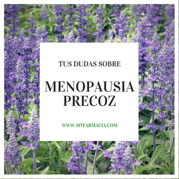 Menstruacion en la menopausia precoz