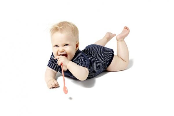 El bebé de 7 meses