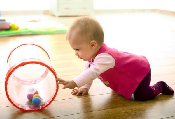 El bebé de 9 meses
