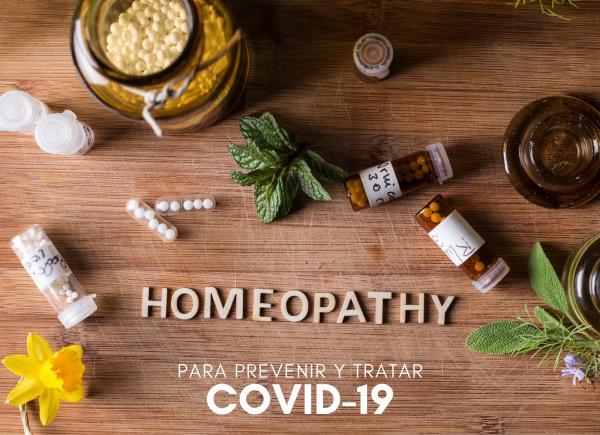 Homeopatía para preveniry tratar el COVID19