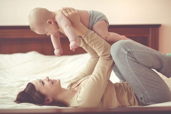 Las etapas del bebé: cuatro meses