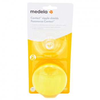 MEDELA Pezoneras para lactancia Contact  - Talla M 2u