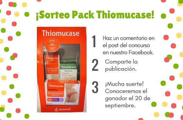 Sorteo 'Pack productos Thiomucase'