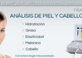 SERVICIO DERMOANALIZADOR PIEL Y CABELLO