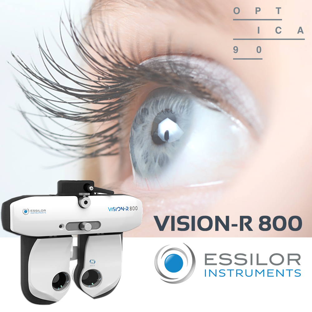 Nou foròpter a Optica 90: Vision-R 800 d'Essilor