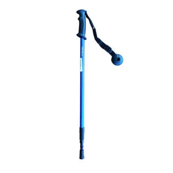 Bastón de trekking azul