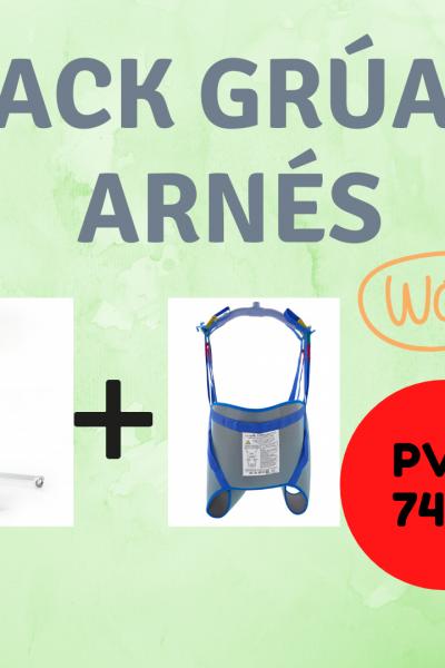 PACK ESPECIAL GRÚA + ARNÈS