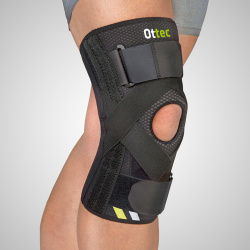 Rodillera estabilizadora para ligamentos cruzados