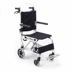 Silla de ruedas transporte plegable