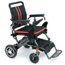 Alquiler silla de ruedas eléctrica plegable