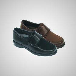 Zapato elastic comfort velcro horma ancha