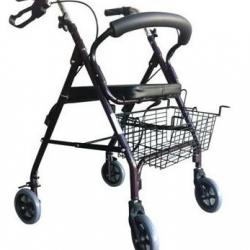 Andador de 4 ruedas plegable