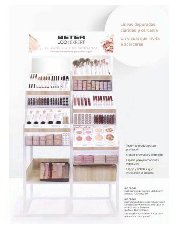 Nuevo centro de maquillaje Look Expert de Beter