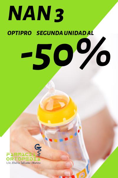 Llet infantil NAN 3 Optipro