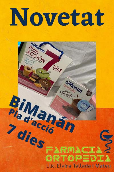 Novetat BiManán