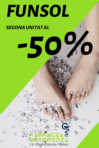 Segona unitat al -50% dto. en Funsol