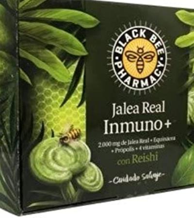 JALEA REAL BLACK BEE IMMUNO+. 25% DE DTE.