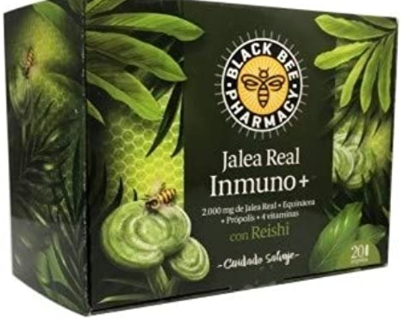 JALEA REAL BLACK BEE. 50% DE DTE EN LA SEGONA UNITAT.