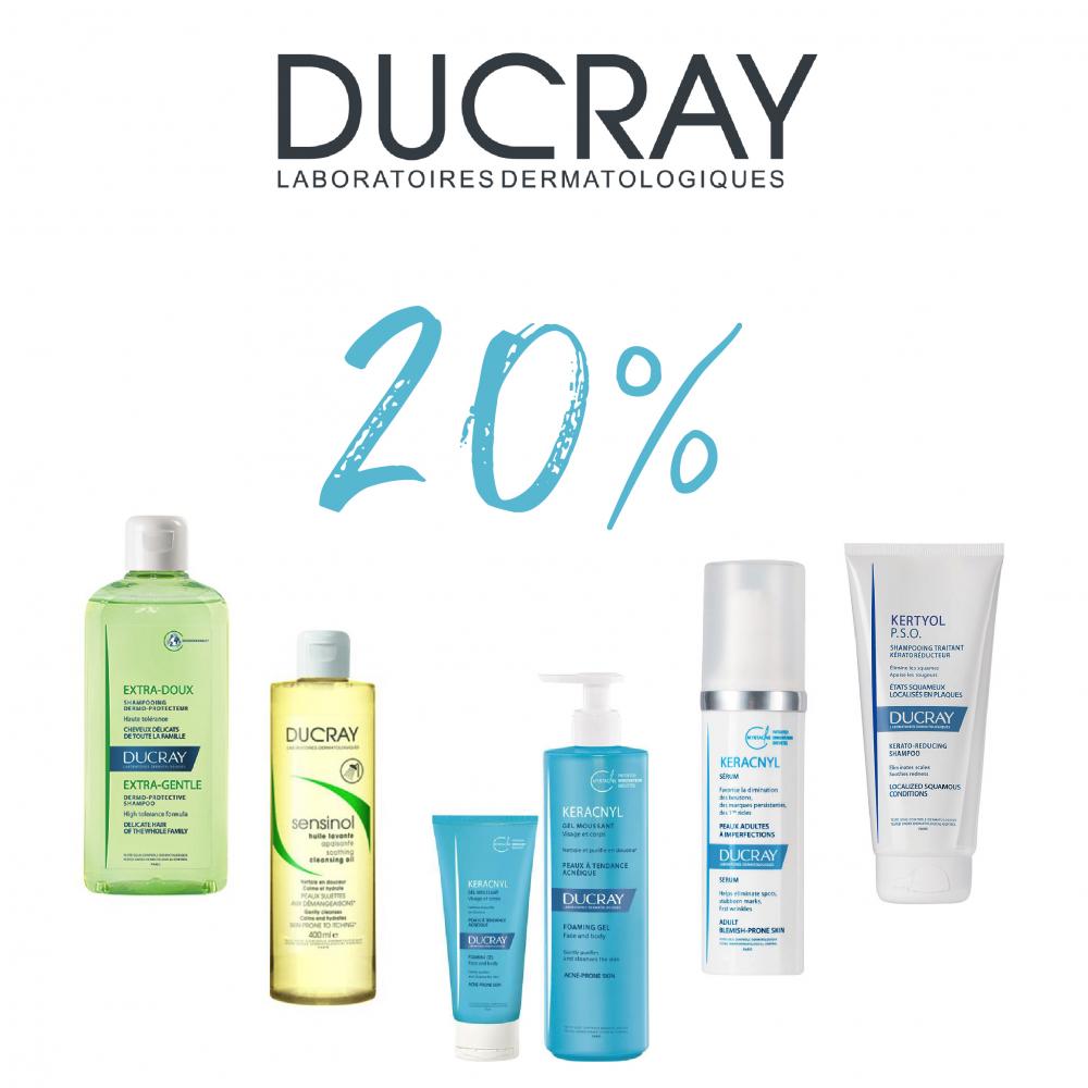 20% de descompte en tots els productes Ducray