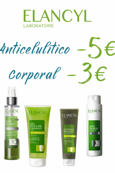 Estalvia 3€ i 5€ en el teu tractament corporal Elancyl