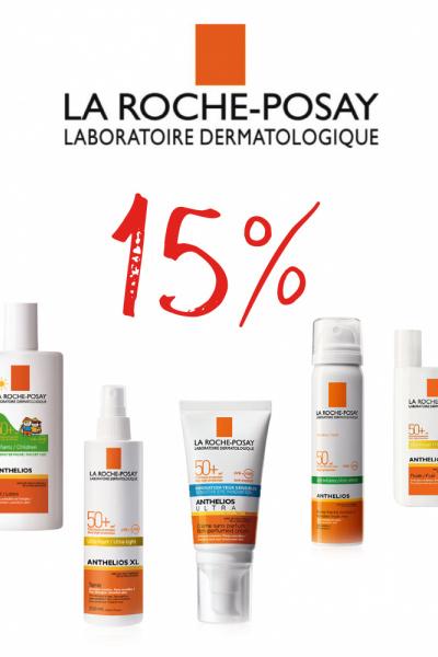 -15% en SOLARS La Roche Posay