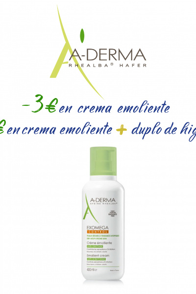 ADERMA EXOMEGA -3€ y -5€