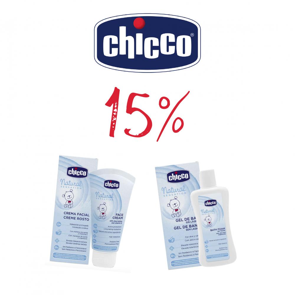 CHICCO NATURAL SENSATION 15%