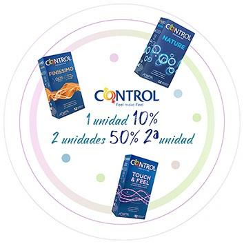 CONTROL -10% o 50% 2ª ud