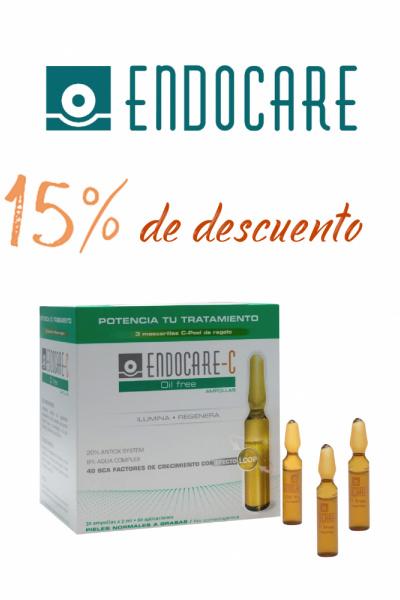 ENDOCARE AMPOLLAS 15% DTO