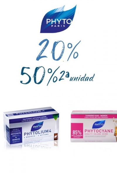 Phytomium y Phytocyane 50% 2ª unidad