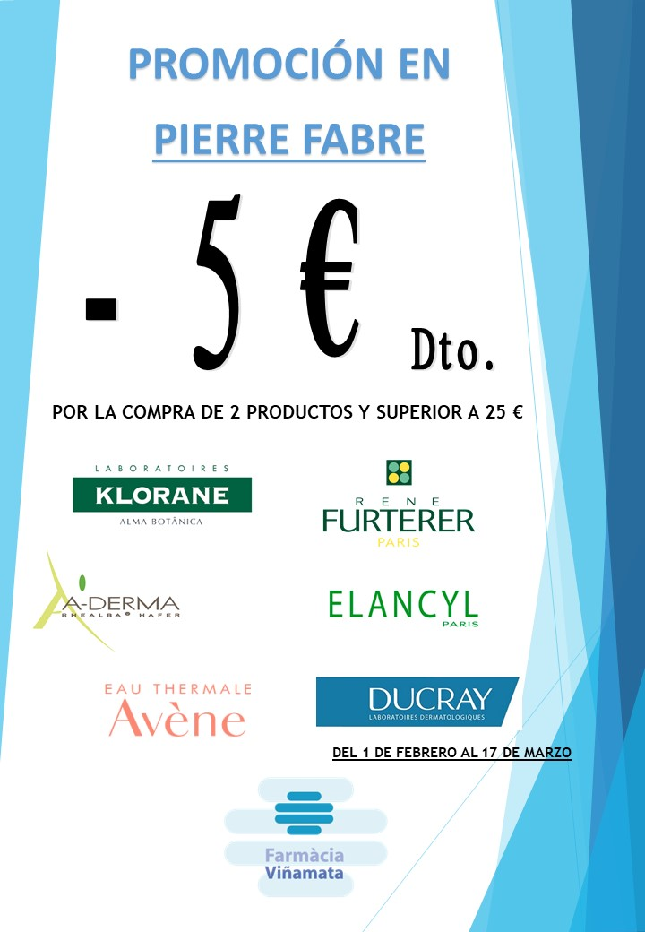 PIERRE FABRE -5€
