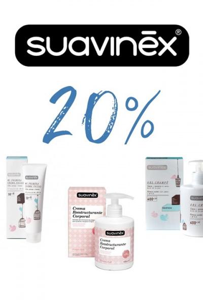 SUAVINEX higiene 20%