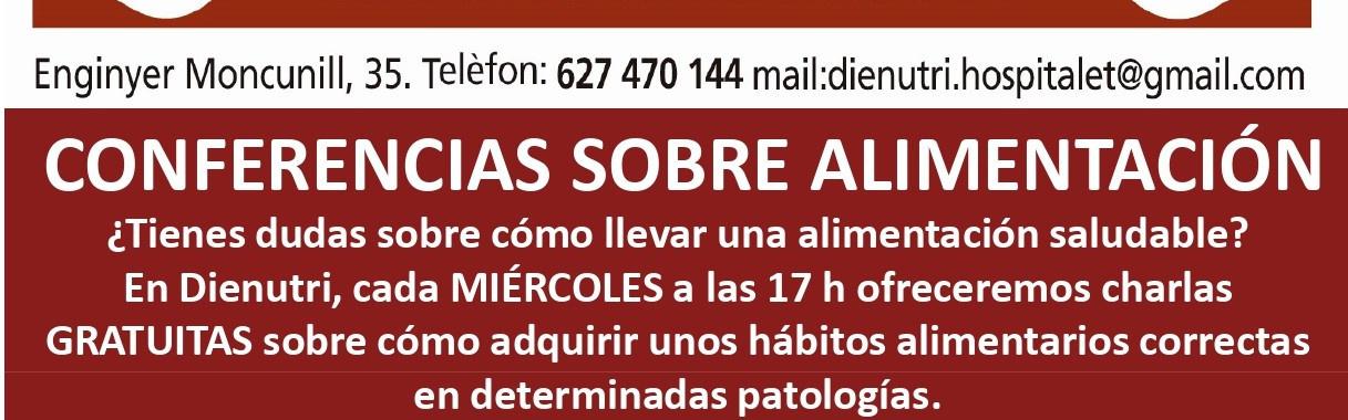 CONFERENCIAS SOBRE ALIMENTACIÓN