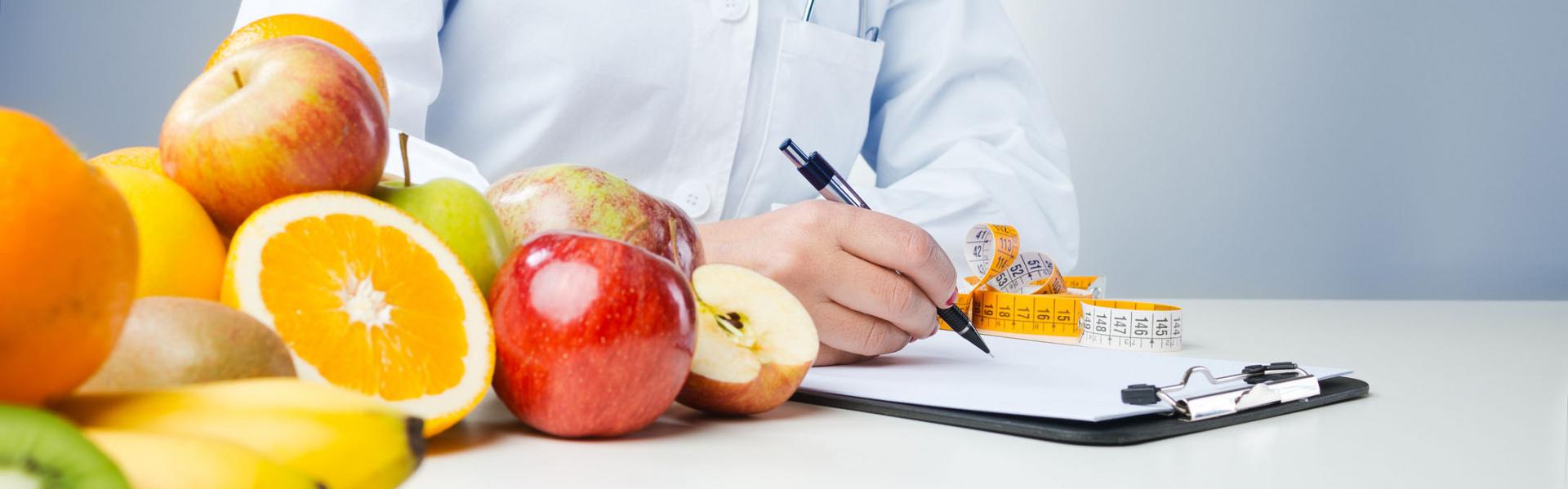 Servicio de nutrición totalmente personalizado.