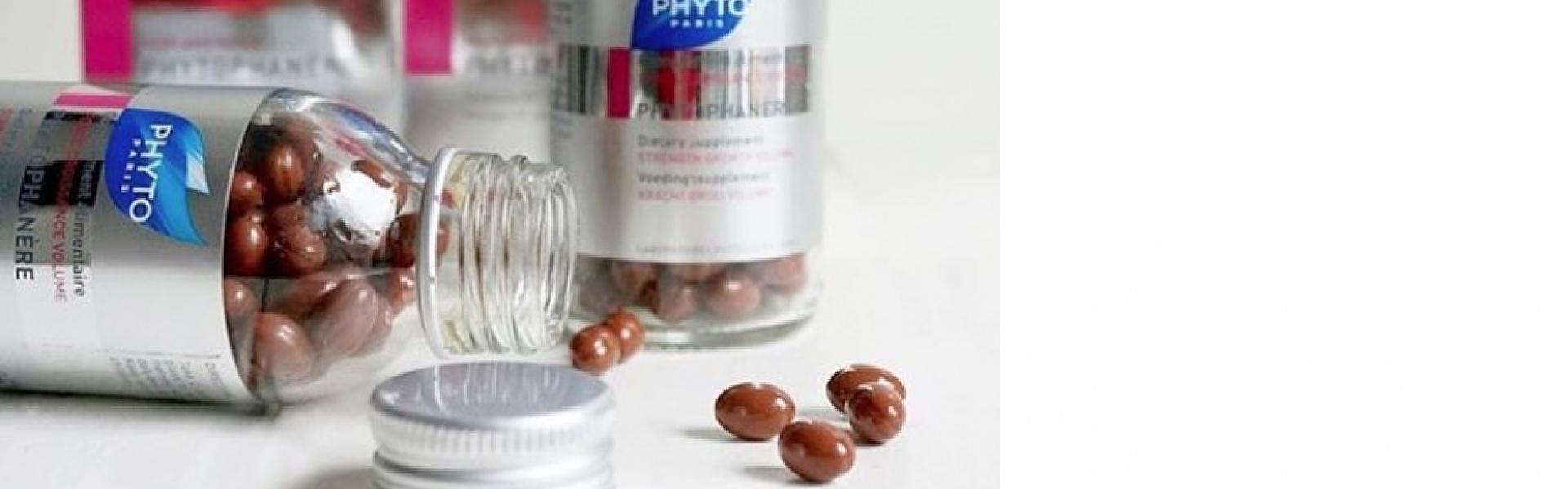 Campaña anticaída: Duplo phytophanere cabello y uñas fuertes.