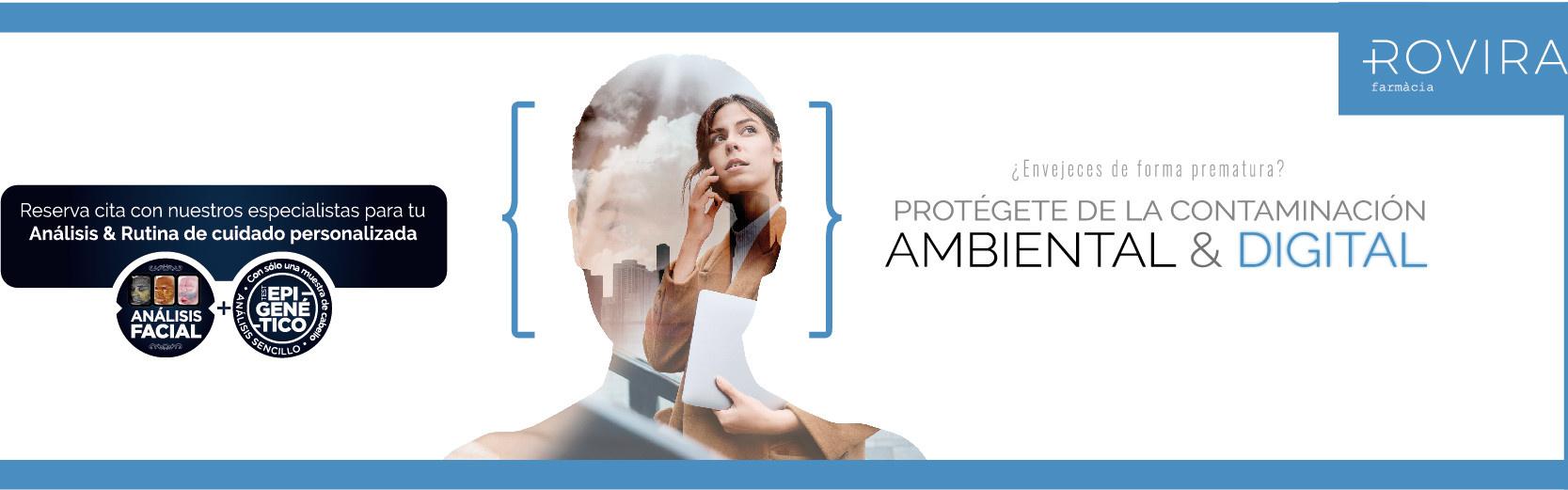 Protégete de la contaminación ambiental y digital